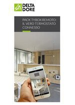 Termostato connesso Pack Tybox remoto